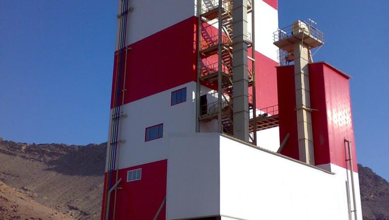 کارخانه تولید ملات خشک مهدیشهر ، منحصر به فرد در خاورمیانه